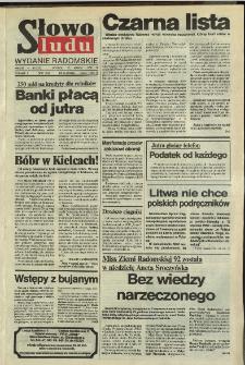 Słowo Ludu,1992 R.XLIII, nr 59 (wydanie radomskie)