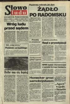 Słowo Ludu,1992 R.XLIII, nr 60 (wydanie radomskie)