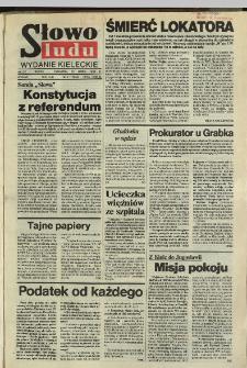 Słowo Ludu,1992 R.XLIII, nr 61