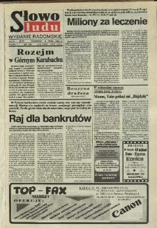 Słowo Ludu,1992 R.XLIII, nr 64 (wydanie radomskie)