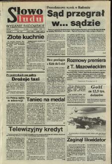 Słowo Ludu,1992 R.XLIII, nr 65 (wydanie radomskie)
