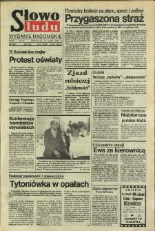 Słowo Ludu,1992 R.XLIII, nr 70 (wydanie radomskie)