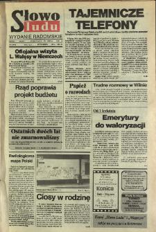 Słowo Ludu,1992 R.XLIII, nr 76 (wydanie radomskie)