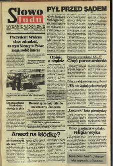 Słowo Ludu,1992 R.XLIII, nr 77 (wydanie radomskie)