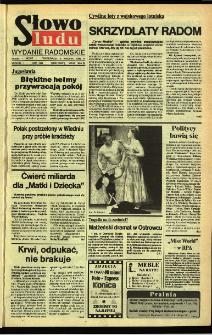Słowo Ludu,1992 R.XLIII, nr 82 (wydanie radomskie)