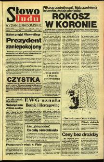 Słowo Ludu,1992 R.XLIII, nr 83 (wydanie radomskie)