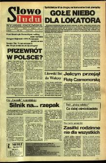 Słowo Ludu,1992 R.XLIII, nr 84 (wydanie radomskie)