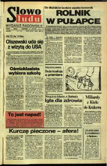 Słowo Ludu,1992 R.XLIII, nr 85 (wydanie radomskie)