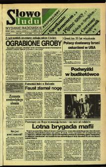 Słowo Ludu,1992 R.XLIII, nr 87 (wydanie radomskie)