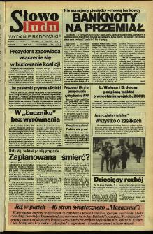 Słowo Ludu,1992 R.XLIII, nr 89 (wydanie radomskie)