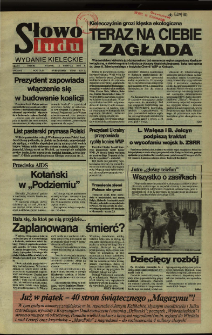 Słowo Ludu,1992 R.XLIII, nr 89