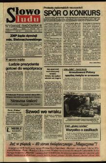 Słowo Ludu,1992 R.XLIII, nr 90 (wydanie radomskie)