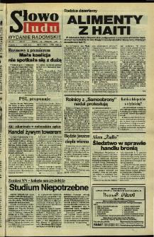 Słowo Ludu,1992 R.XLIII, nr 94 (wydanie radomskie)