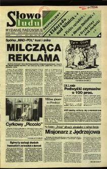 Słowo Ludu,1992 R.XLIII, nr 97 (wydanie radomskie)