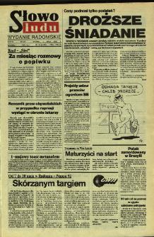Słowo Ludu,1992 R.XLIII, nr 104 (wydanie radomskie)