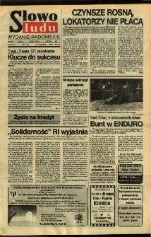 Słowo Ludu,1992 R.XLIII, nr 109 (wydanie radomskie)