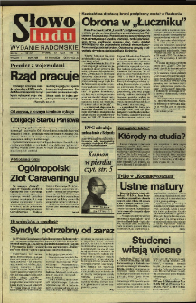 Słowo Ludu,1992 R.XLIII, nr 110 (wydanie radomskie)