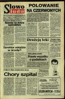 Słowo Ludu,1992 R.XLIII, nr 116 (wydanie radomskie)