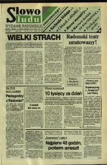 Słowo Ludu,1992 R.XLIII, nr 120 (wydanie radomskie)