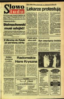 Słowo Ludu,1992 R.XLIII, nr 121 (wydanie radomskie)