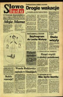 Słowo Ludu,1992 R.XLIII, nr 122 (wydanie radomskie)