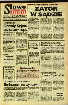 Słowo Ludu,1992 R.XLIII, nr 124 (wydanie radomskie)