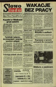 Słowo Ludu,1992 R.XLIII, nr 129 (wydanie radomskie)