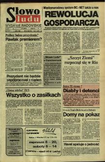 Słowo Ludu,1992 R.XLIII, nr 131 (wydanie radomskie)