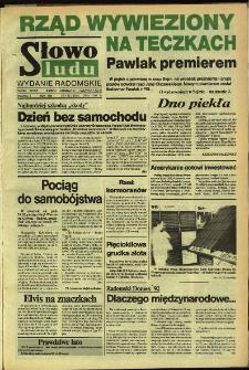 Słowo Ludu,1992 R.XLIII, nr 132 (wydanie radomskie)