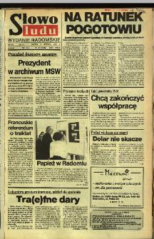 Słowo Ludu,1992 R.XLIII, nr 134 (wydanie radomskie)