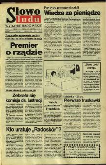 Słowo Ludu,1992 R.XLIII, nr 135 (wydanie radomskie)