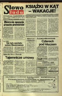 Słowo Ludu,1992 R.XLIII, nr 146 (wydanie radomskie)