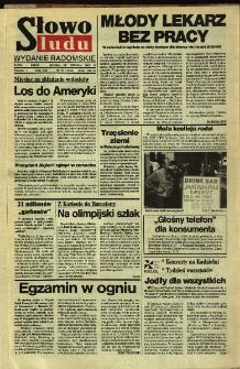 Słowo Ludu,1992 R.XLIII, nr 151 (wydanie radomskie)