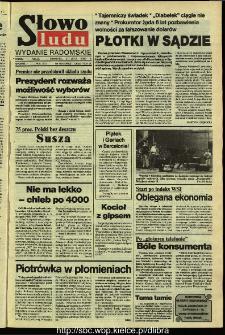 Słowo Ludu,1992 R.XLIII, nr 153 (wydanie radomskie)