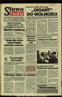 Słowo Ludu,1992 R.XLIII, nr 156