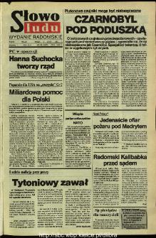 Słowo Ludu,1992 R.XLIII, nr 158 (wydanie radomskie)