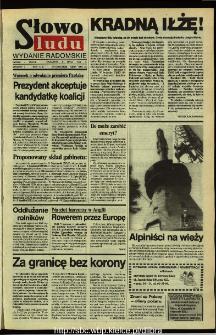 Słowo Ludu,1992 R.XLIII, nr 159 (wydanie radomskie)