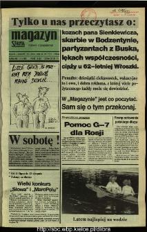 Słowo Ludu,1992 R.XLIII, nr 160 (magazyn)