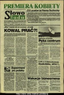 Słowo Ludu,1992 R.XLIII, nr 161 (wydanie radomskie)