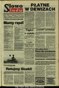 Słowo Ludu,1992 R.XLIII, nr 162 (wydanie radomskie)