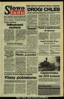 Słowo Ludu,1992 R.XLIII, nr 163 (wydanie radomskie)