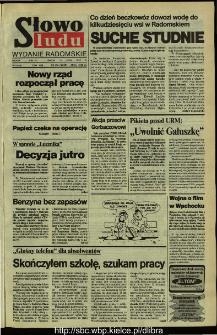 Słowo Ludu,1992 R.XLIII, nr 164 (wydanie radomskie)
