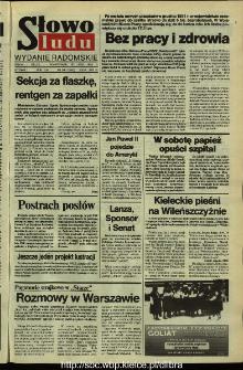 Słowo Ludu,1992 R.XLIII, nr 168 (wydanie radomskie)