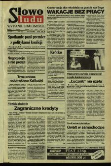 Słowo Ludu,1992 R.XLIII, nr 170 (wydanie radomskie)