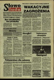 Słowo Ludu,1992 R.XLIII, nr 171 (wydanie radomskie)