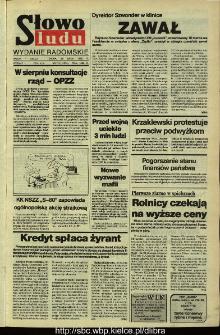 Słowo Ludu,1992 R.XLIII, nr 176 (wydanie radomskie)