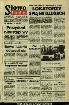 Słowo Ludu,1992 R.XLIII, nr 181 (wydanie radomskie)