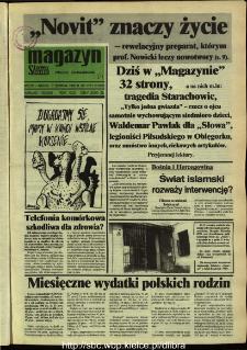 Słowo Ludu,1992 R.XLIII, nr 184 (magazyn)