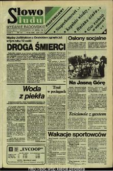 Słowo Ludu,1992 R.XLIII, nr 185 (wydanie radomskie)