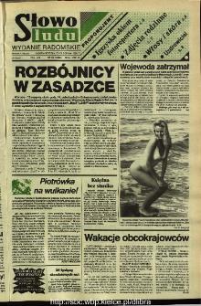Słowo Ludu,1992 R.XLIII, nr 196 (wydanie radomskie)